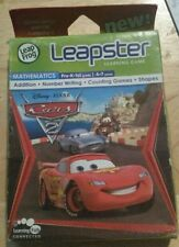 Cars 2 Leap Frog Leapster 1 & 2 Learning Game-Math-Ages 4-7-NEW/Sealed-FREE SHIP