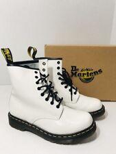 DOC MARTENS The Original WHITE Boots Size 8 US 6 UK 39 EU Model 1460W Lace VGU