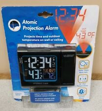 La Crosse Technology 616-146 Atomic Color LCD Projection Alarm clock Backlight