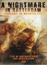 A NIGHTMARE IN ROTTERDAM = THE LIVE REGISTRATION 2005 = DVD = HARDCORE GABBER