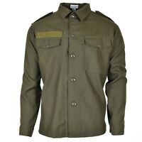 Original Austrian BH army combat shirt military olive green BDU Field NEW