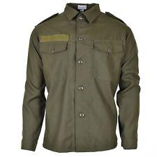 Original Austrian BH army combat shirt military olive green BDU Field NEW