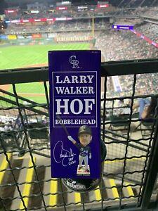 Larry Walker bobblehead HOF Rockies Game 9/25 HOF **Brand New** Bobble Head MLB