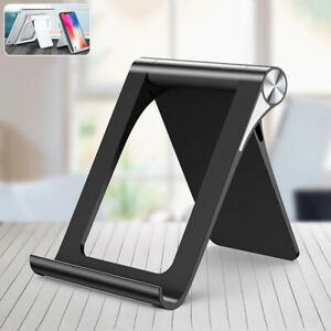 Universal Foldable Desktop Phone Tablet Stand Holder For iPhone 13 12 11 Pro Max