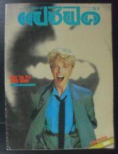 1983 David Bowie Lrb Michael Schenker Csn Rock Goddess Rem Pat Benatar Mega Rare