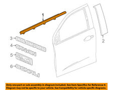 GM OEM-Door Window Sweep-Belt Molding Weatherstrip Right 23217185