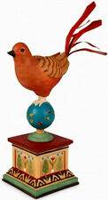 """Exotic """"Global Market"""" Bird Figurine By Fitz And Floyd"""