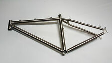 """Telaio bici MTB titanio 16"""" titanium bike frame mountain bike"""