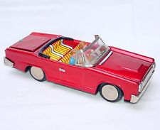 MF-191 China 1:25 FORD TAUNUS 12M P4 1966 CONVERTIBLE Tin Toy Car 23cm Mint `68!