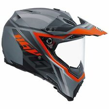 CASCO INTEGRALE AGV AX-8 DUAL EVO KARAKUM CAMO- ORANGE TAGLIA XL
