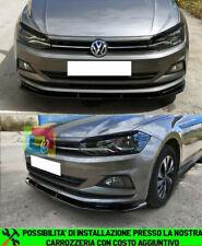 Set QQKLP Diffusore del respingente Posteriore Spoiler Uscita Aria di Scarico Striscia Disposizione della Copertura della VW Polo MK6 Polo Inoltre 2018 2019 3Pcs