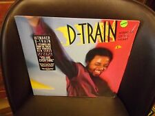 D-Train Miracles of The Heart Modern Soul LP 1986 Columbia Records VG+ IN Shrink