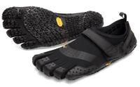 Vibram 18M7301 Men's V-Aqua Black Amphibious Wet/Dry Trekking Minimalist Shoes