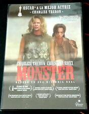 MONSTER - CINE GAY - DVD - CHARLIZE THERON - CHISTINA RICCI - OSCAR MEJOR ACTRIZ