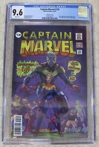 Capt Marvel #125, Invcbl Iron Man #593, Secret Warriors #8 CGC 9.8 Lenticulars