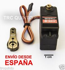 Servo digital Alta Potencia estanco DS3218  21,5kg 6,8v (servo arm including)