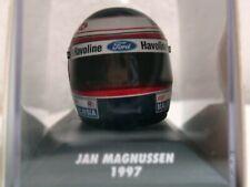 WOW EXTREMELY RARE Helmet Magnussen 1997 Arai Stewart Silverstone 1:8 Minichamps