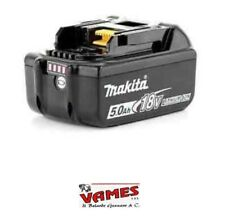 "BATTERIA MAKITA LITIO 18V 5AH ""ORIGINALE""  CON LED INDICATORE DI CARICA BL1850B"