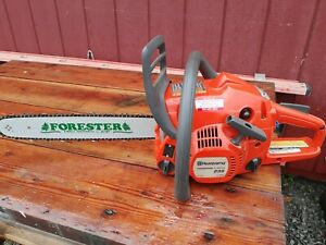 """Used Husqvarna 235 Chainsaw with 16"""" bar and chain 440 435 240"""
