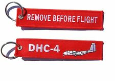 RAAF DHC-4 CARIBOU Remove Before Flight Key Ring Luggage Tag