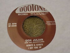 """DON JULIAN & THE MEADOWLARKS Heaven & Paradise 7"""" ep re EX THRILL ME NIGHT & DAY"""