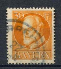 Bavaria 1914 SG#184A 30pf Orange Used #A62532