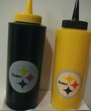 Pittsburgh Steelers Black & Yellow Condiment Set NFL New