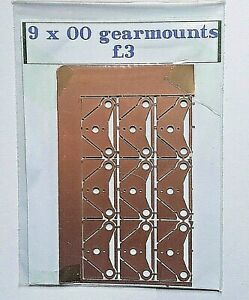 00 Gearmounts x 9