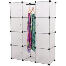 NEUHAUS® DIY Sistema Scaffale Armadio + Porte 145x110cm Bianco Ripostiglio Uffic