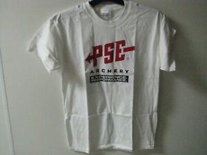 NEW PSE ARCHERY YOUTH LARGE T-SHIRT, #PSE41591L RETAIL $15 SALE $5