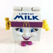 Vintage McDonalds Food Fundamentals - MILLY MILK - Happy Meal Millie Transforms