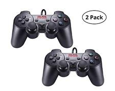 Vilros Retro Gaming PS2 Style USB Gamepads-Set of 2