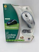 LX7 Logitech Cordless Wireless Optical USB Mouse