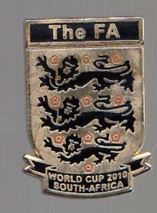 ENGLISH FOOTBALL ASSOCIATION World Cup 2010 - Pin Badge