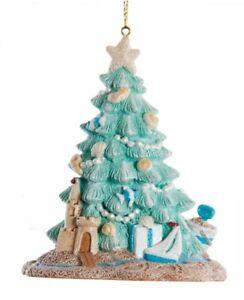 Kurt Adler Coastal Beach Christmas Tree Ornament