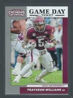 2019 Contenders Draft Picks Game Day Ticket  #15  TRAYVEON WILLIAMS