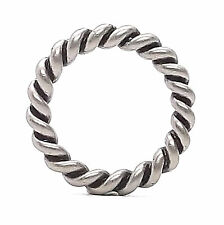 "Rope Border Antique Nickel Ring 1"" 1176-21"