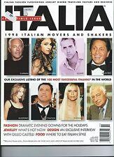 MADONNA, VERSACE, ARMANI, VALENTINO, GAGNELLI  *ITALIA*  collectible issue 1998