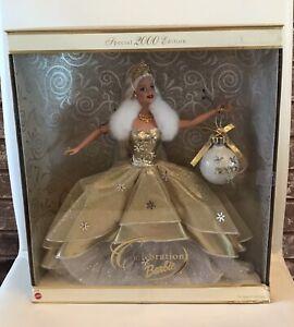 2000 Special Edition Holiday Celebration Barbie Doll NRFB 28269