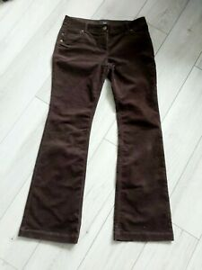 Next Size 12 L Brown Cord Trousers Bootcut