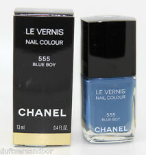 CHANEL LE VERNIS NAIL COLOUR NAGELLACK 13ml. 555 Blue Boy NEU/OVP