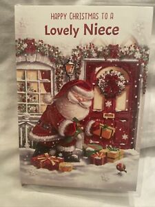 niece christmas card / Christmas Card For Niece - 4 Variations