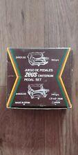 Vintage Zeus Criterium Road Bike Pedal Set NOS. Metric.