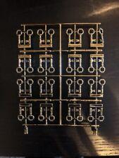 Authentische Lego Prototyp Anguss Chrom Antik Messing Schlüssel (HTF/selten) (32 Schlüssel) V2