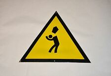 1960`s Vintage Enameled Bulgarian Sign triangular Plate