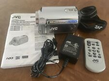 JVC Everio Hard Drive Camcorder GZ-MG 330 Silver