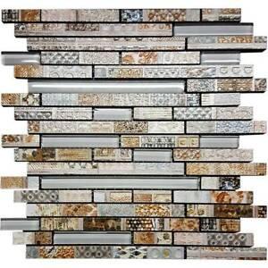Mosaic Feature Tile- Vintage Fingers