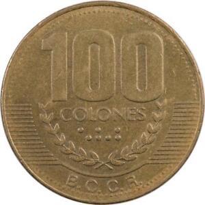 COSTA RICA - 100 COLONES - 1999