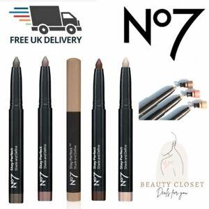 No7 Stay Perfect Shade And Define Pencil (Various Shades) NEW - Free UK Shipping