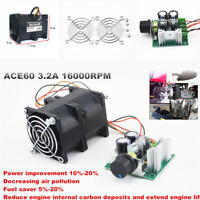 16000RPM Electric Turbine Turbo Charger Boost Air Intake Fan W/ESC potentiometer